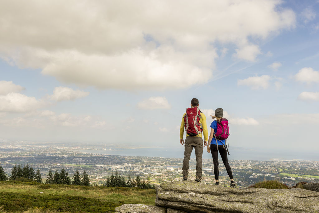 Adventure Dublin via Dublin-Breath-of-fresh-air-hiking-view-over-city